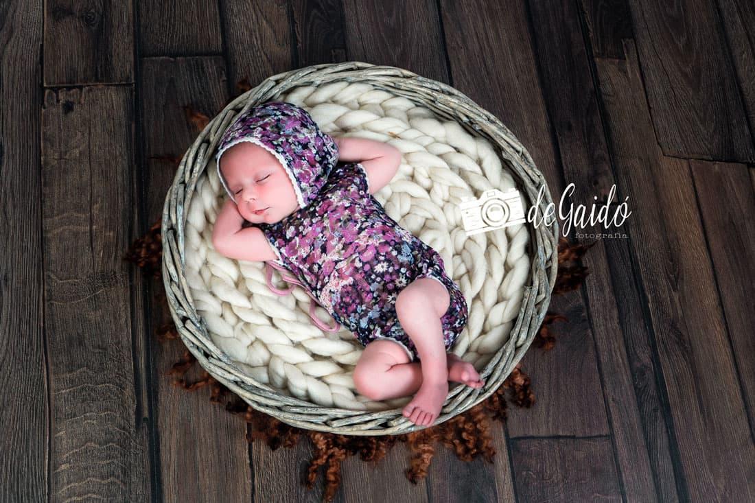 fotografia newborn recien nacido callosa