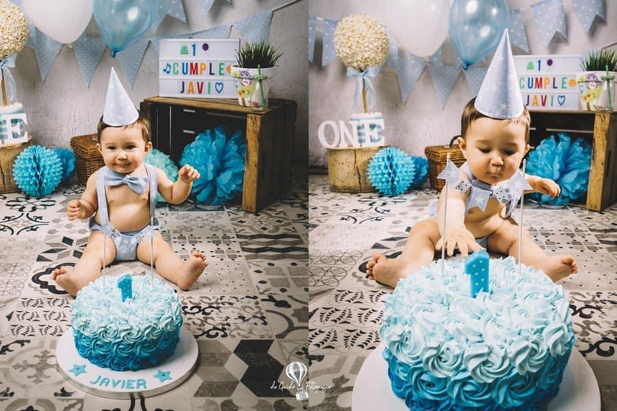 fotos cumpleaños smash cake la nucia